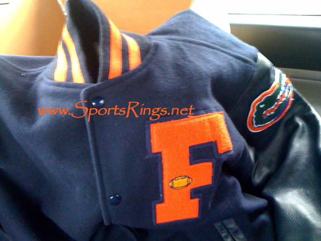 letterman jacket and varsity jacket