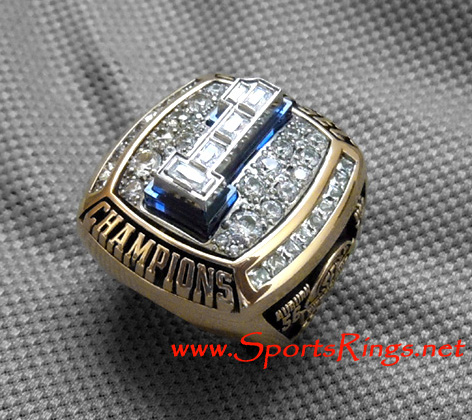 "2010 Auburn Tigers Football ""SEC CHAMPIONSHIP"" Authentic Starting Player's Ring"