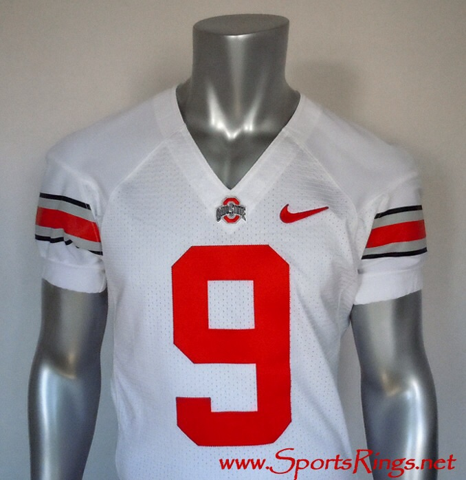 Ohio State Buckeyes Football #9 Game Worn Player's Jersey!!