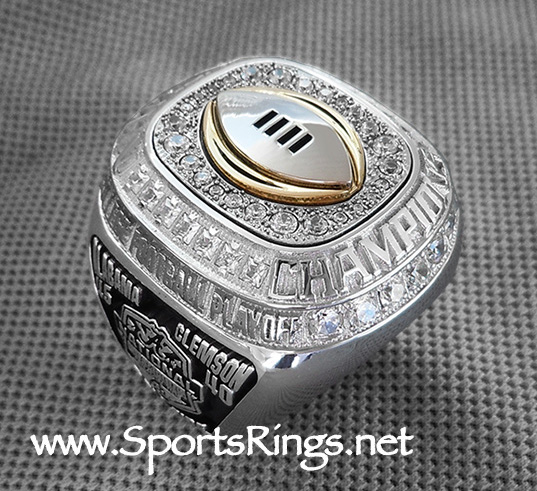 "**CURRENTLY AVAILABLE CONTACT US FOR PRICE**2015 Alabama Football ""COLLEGE FOOTBALL PLAYOFF NATIONAL CHAMPIONSHIP"" Starting Player Issued Ring"