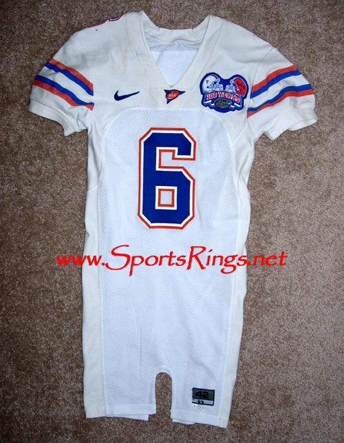2006 UF Florida Gators Football Game Worn Player's Jersey-#6 J. Cornelius