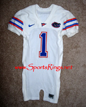 UF Gators Football Nike Game Worn Player's Jersey-#1