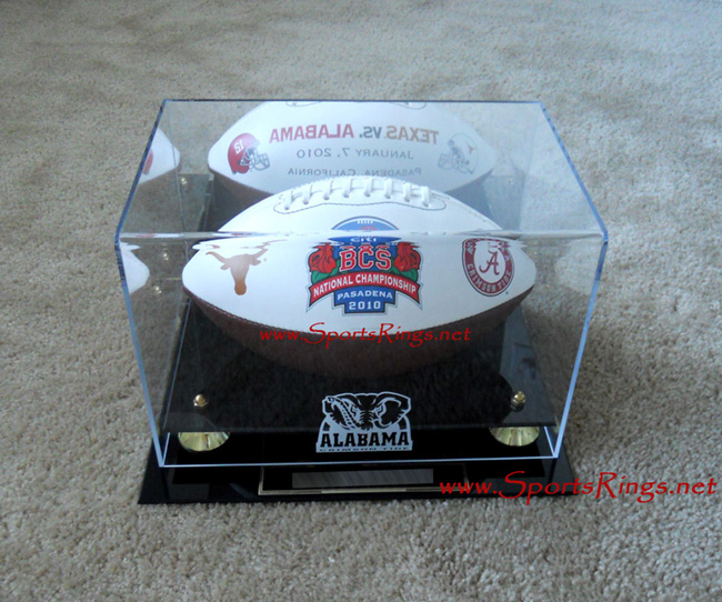 "2009 Alabama Crimson Tide Football ""BCS National Championship"" Player Issued Ball"