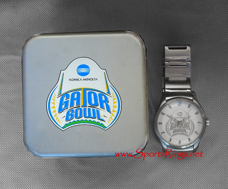 "2010 Florida State Seminoles Football ""GATOR BOWL CHAMPIONSHIP"" Former Starting Player's Watch!!"