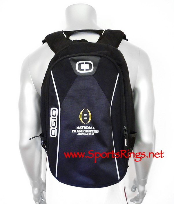 "2016 Alabama Football ""COLLEGE PLAYOFF NATIONAL CHAMPIONSHIP"" Player Issued OGIO Backpack"