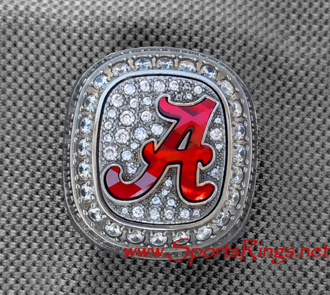"2012 Alabama Crimson Tide Football ""SEC CHAMPIONSHIP"" Authentic Player Issued Ring"