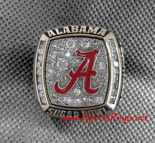 "2008 Alabama Crimson Tide Football ""SEC West Championship"" Player's Ring!!"