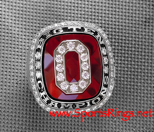 "2010 Ohio State Football ""BIG TEN CHAMPIONSHIP"" Authentic Former Starting Player's Ring!"