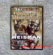 #15 Tim Tebow Auto'd SI Sports Illustrated Heisman Edition Magazine