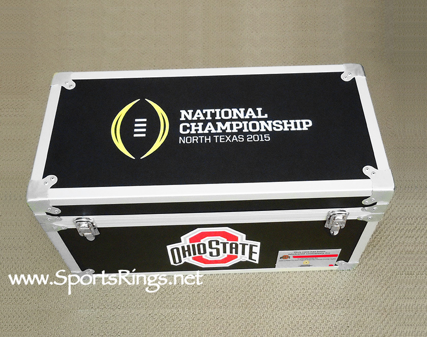 "2015 Ohio State Football ""College Football Playoff National Championship"" Former Player Issued Custom Locker!!"