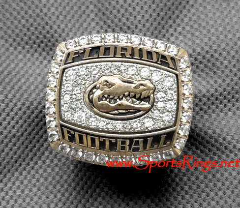 "2011 UF Gators Football ""TaxSlayer Gator Bowl Championship"" Starting Player's Ring!!"
