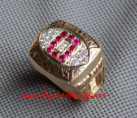 "1993 Ohio State ""BIG TEN CHAMPIONS"" 10K Players Ring"