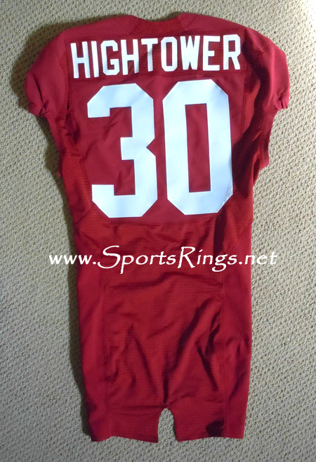 Alabama Crimson Tide Football Game Worn Player's Jersey-#30 Dont'a Hightower!!