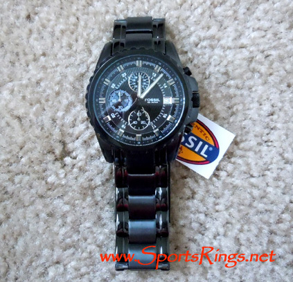 "2010 Auburn Tigers Football ""Tostito's BCS National Championship"" Player's Issued Watch!!"