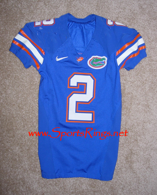 UF Gators Football Nike Game Worn Player's Jersey-#2