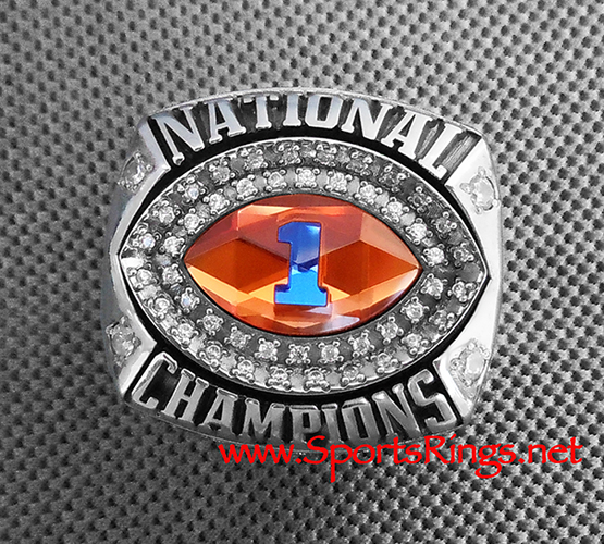 "2008 Florida Gators Football ""BCS NATIONAL CHAMPIONSHIP"" Starting Player's Ring!!"