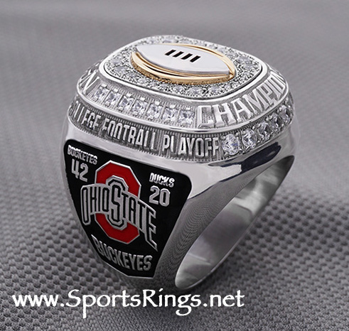 "**CURRENTLY AVAILABLE...CONTACT US FOR PRICE**2014 Ohio State Buckeyes Football ""COLLEGE FOOTBALL PLAYOFF NATIONAL CHAMPIONSHIP"" Authentic Former Starting Player Issued Ring!!"