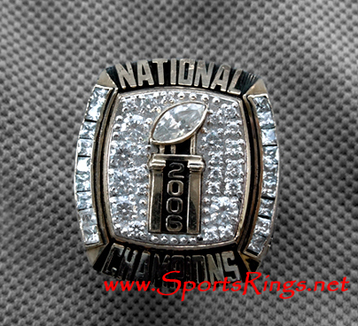 "2006 UF Florida Gators Football ""NATIONAL CHAMPIONSHIP"" 10K Players Ring"