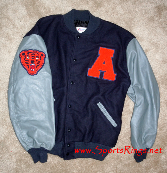 "Auburn Tigers Football Varsity ""A"" Letterman Top Starting Player's Jacket!!!"