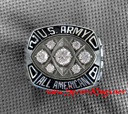 2008 U.S. Army All-American Bowl East MVP Player's Championship Ring-Ohio State #2 TERRELL PRYOR