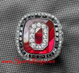 "2010 Ohio State Football ""BIG TEN CHAMPIONSHIP"" Authentic Starting Players Ring"