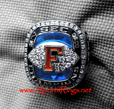"2008 UF Florida Gators Football ""SEC CHAMPIONSHIP"" **Starting** Players Ring-Star RB!!"