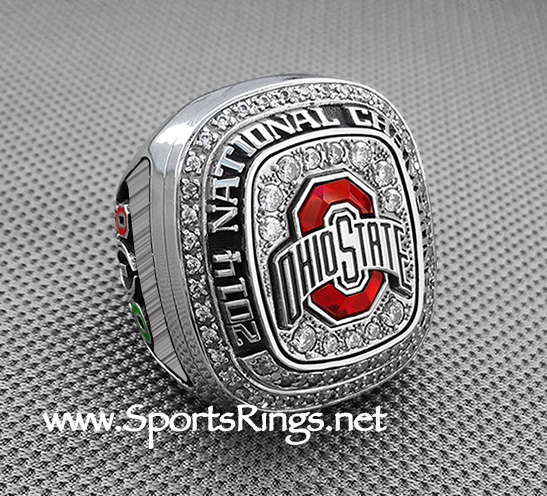 "2015 Ohio State Buckeyes Football ""COLLEGE FOOTBALL PLAYOFF SUGAR BOWL/NATIONAL CHAMPIONSHIP"" Authentic Staff Issued Ring!!"