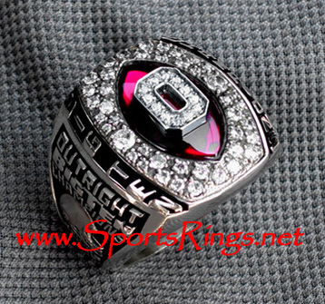 "2006 Ohio State Football ""OUTRIGHT BIG TEN CHAMPS"" 10K Gold Authentic Coaches Ring!"