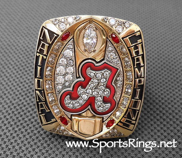 "**CURRENTLY AVAILABLE CALL FOR PRICE**2015 Alabama Football ""COLLEGE FOOTBALL PLAYOFF COTTON BOWL/NATIONAL CHAMPIONSHIP"" Starting Player Issued Ring"