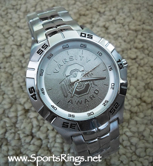"""Ohio State Football Starting Player's Varsity """"O"""" Lettermans Watch(RARE!!)"""
