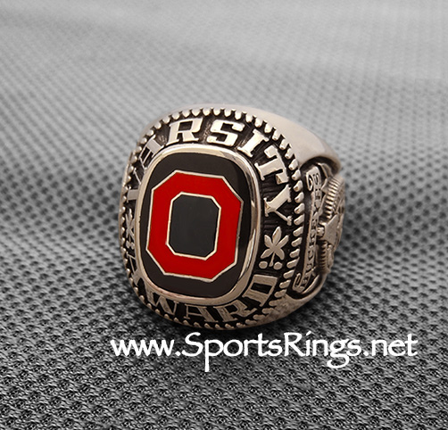 "**CONTACT US FOR PRICE**Ohio State Buckeyes Football Authentic Starting Player Issued Varsity ""O Club"" 10K GOLD Lettermans Ring!"