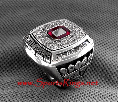 "2009 Ohio State Football ""OUTRIGHT BIG TEN-ROSE BOWL CHAMPIONSHIP"" Authentic Player's Ring!"