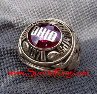 "1970 Ohio State ""BIG TEN CHAMPIONSHIP""10K Starting Players Ring"