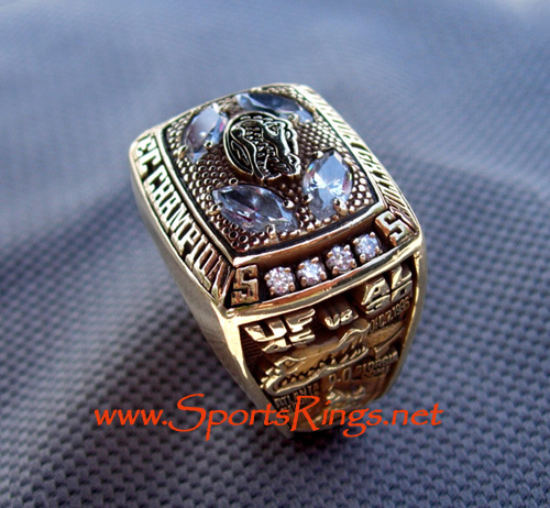 "1996 UF Gators ""SEC CHAMPIONSHIP"" 10K Starting Players Ring"