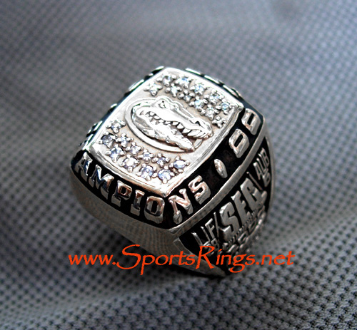 "2000 UF Gators ""SEC CHAMPIONSHIP"" 10K Players Ring!!"