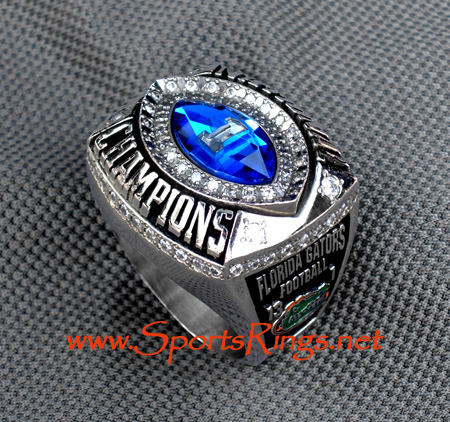 "2006 Florida Gators ""BCS NATIONAL CHAMPIONSHIP"" 10K Players Ring"