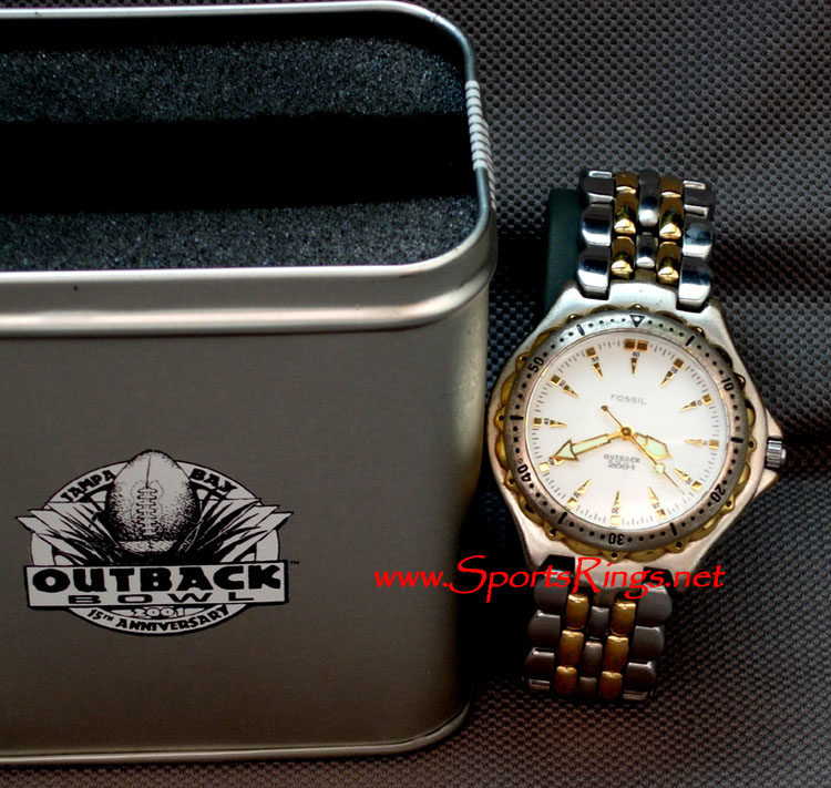 "2001 Ohio State Football ""Outback Bowl"" Player's Watch"