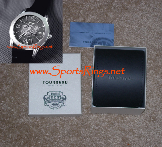 "2008 UF Gators Football ""FedEx BCS National Championship"" Player's Watch"