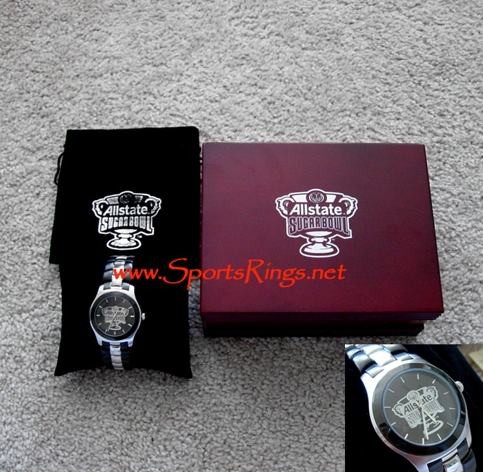 "2009 UF Gators Football ""Sugar Bowl Championship"" Player's Watch"