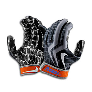 "2008 UF Gators ""BCS National Championship"" Game Worn Gloves"