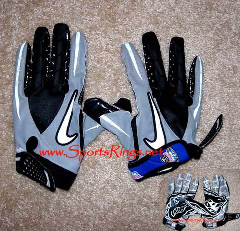 "2009 UF Gators ""Allstate Sugar Bowl Championship"" Game Worn Gloves"