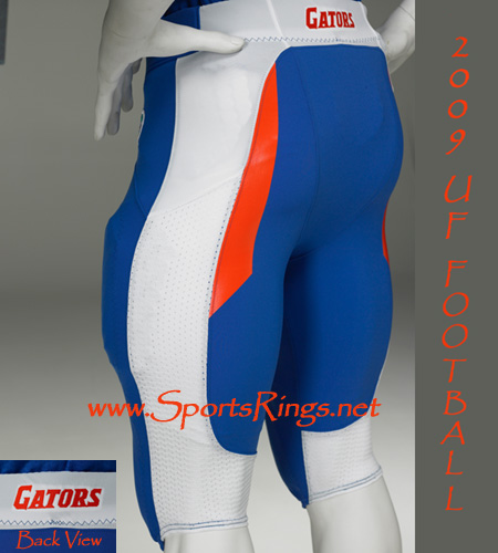 "2009 UF Gators ""UF vs. FSU"" Nike Pro Combat Rivalry Game Worn Pants"