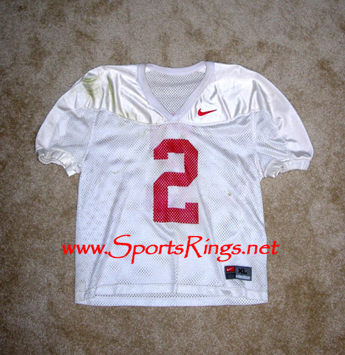 2002 Ohio State Football #2 Mike Doss Practice Jersey