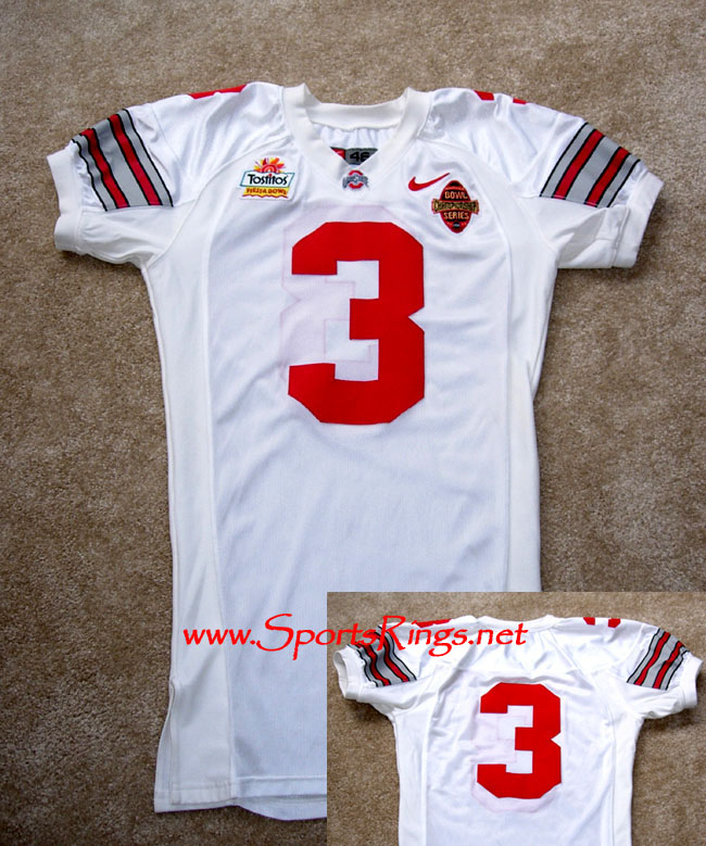 2002 Ohio State Football #3 BCS National Championship Jersey