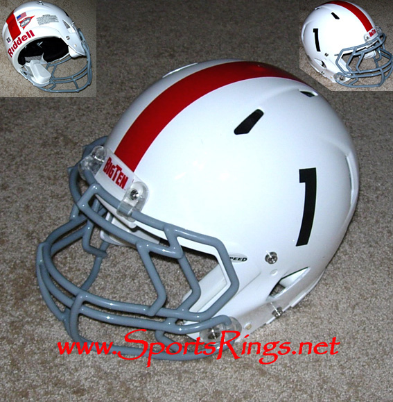 2009 Ohio State Football '54 Throwback Player's Helmet