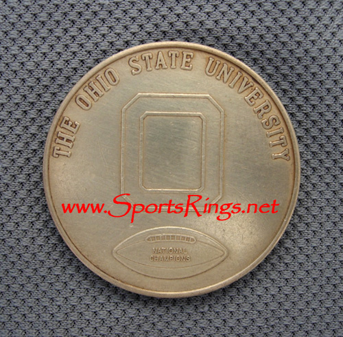 "1968 OSU Big Ten Club ""NATIONAL CHAMPIONS"" Commemorative Coin"