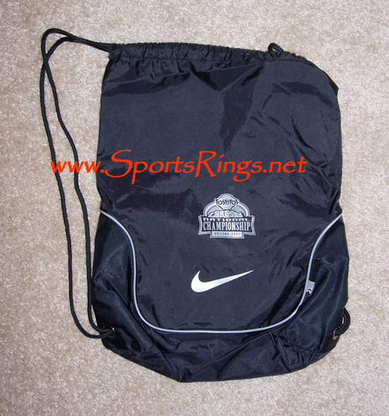 "2006 UF Gators Football ""BCS Nat Championship"" Nike Player's Bag"