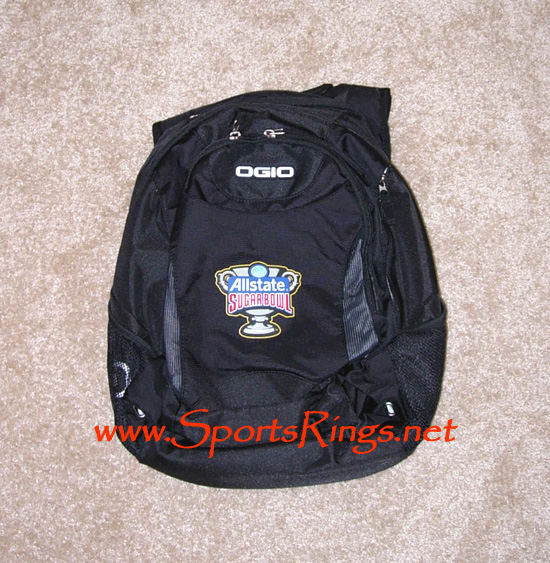 "2009 UF Gators Football ""Sugar Bowl Championship"" Player's Backpack"