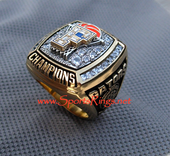 "2006 UF Gators Basketball ""National Championship"" Staff Ring"